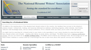 nrwa resume writers for hire