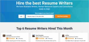 freelancercom resume writers for hire