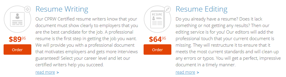 resume writing and editing by resumesplanet.com
