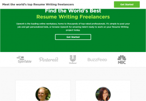 upwork resume writers for hire