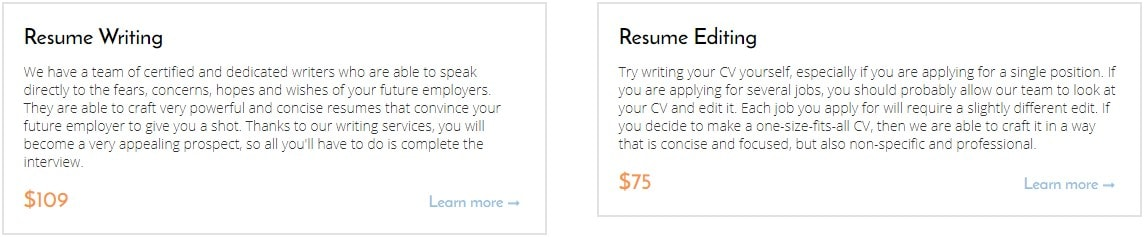 resume writing and editing by careersboostercom