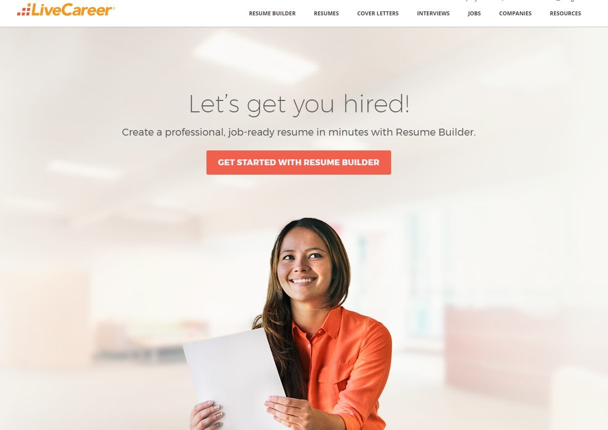 LiveCareer.com Review  Live Carreer