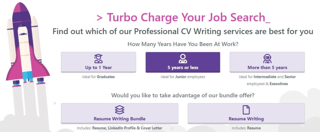 Resume writing services prices